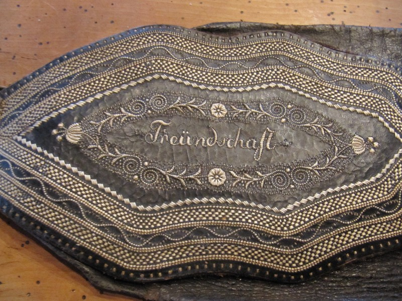 Original Ranzen Leder Tracht Lederhose