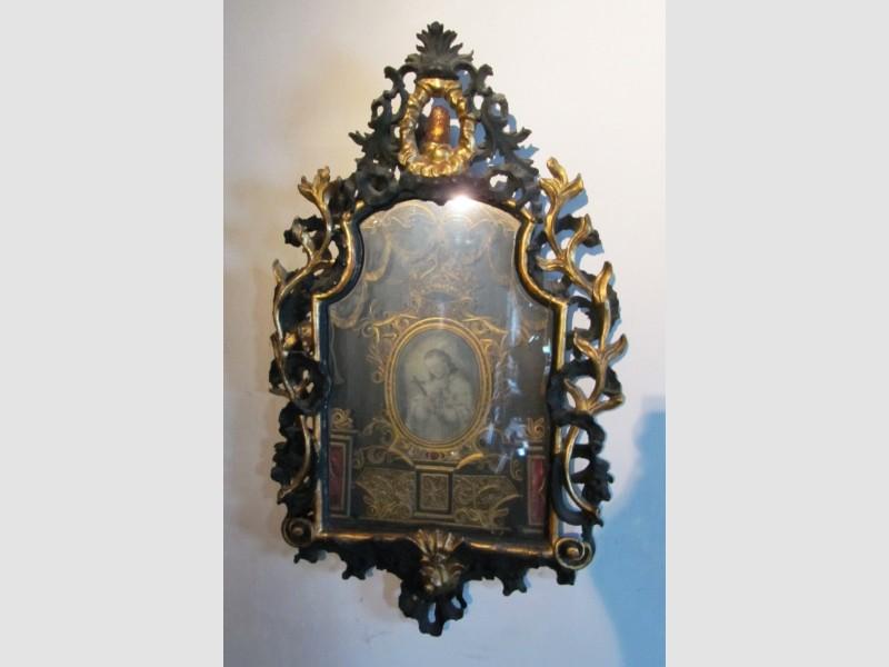 Vokskunst Klosterarbeit Sakral Heiliger Nepomuk Barock